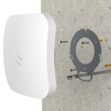 Mounting Mikrotik cAP ac on a wall with another case which is in scope of delivery