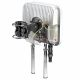 QuMAX A950M 4G directional antenna - semi-transparent view of the housing