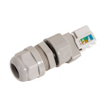 Side view of the cable gland