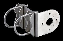 Assembled mounting bracket