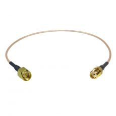 Coaxial Pigtail, RG-178, 25cm, SMA female socket to SMA...