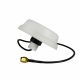 5dBi 2.4GHz WiFi ceiling mount omni antenna with white housing, 0.3m cable and RP-SMA connector