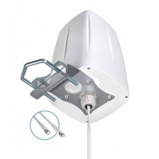 bottom of the 4G outdoor omni antenna with mounting system