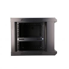 Lateral view of the cabinet without side panel