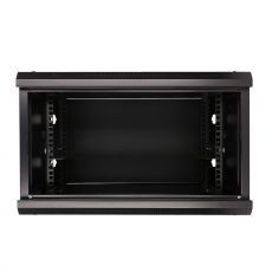 EXTRALINK 9U, 600 x 450mm, wall mounted cabinet, black