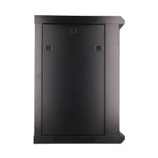 Lateral view of the cabinet with side panel