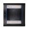 EXTRALINK 12U, 600 x 450mm, wall mounted cabinet, black