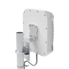 Back side of the XPOL antenna with mounting system