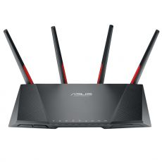 Front view of the router