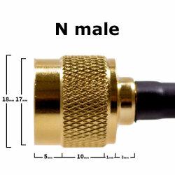 N male - detail