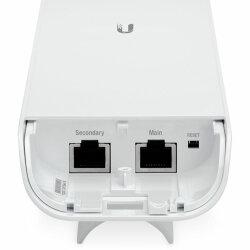 Bottom of NSM5 with Ethernet PoE port