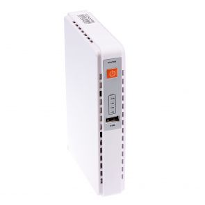 ECO 430 PRO Mini UPS with DC, USB and PoE out