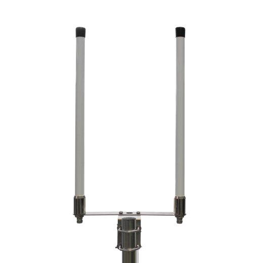 4G multiband fiberglass omni antenna with 9dBi gain and N female connector