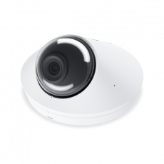Detailed view of the UVC-G4-DOME with focus on the lens and IR LEDs
