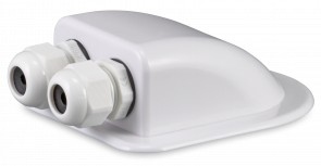 DDK2X roof duct for coaxial cables - dual