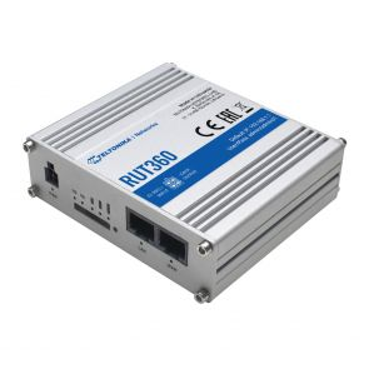 TELTONIKA RUT360 4G Router SIM Slot, CAT4, OpenVPN, DynDNS, wifi accesspoint